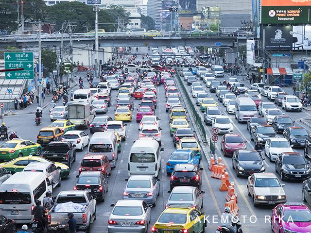 バンコクの渋滞はひどい