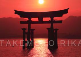 [浄化再生]厳島神社大鳥居(広島)